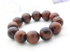 Armband Perlen 8 mm aus rotem Tigerauge