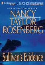 "Sullivan's Evidence by Nancy Taylor Rosenberg Unabridged Audiobook CD""S"