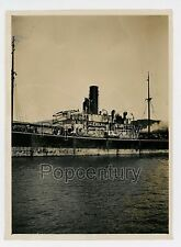 Photograph China 1926 Amoy Xiamen Bias Bay SS Sunning Piracy Bow Side View Photo