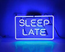 "New Sleep Late Pub Acrylic Neon Light Sign 14"""
