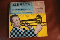KID ORY'S CREOLE JAZZ BAND Down Home Rag Good Time Jazz 45 RPM Jazz Record