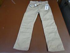New Eddie Bauer Girls Khaki School Uniform pants Size 5 Nwt Adj Inside Waist b2