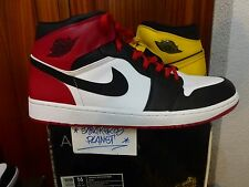 NIKE AIR JORDAN 1 OLD LOVE NEW LOVE US 16 NEW DS 15 14 BLACK TOE 1 2 3  CHICAGO
