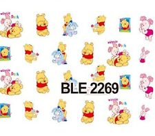 Nail Art Sticker Water Decals Transfer Stickers Winnie The Pooh (BLE2269)