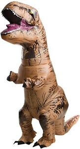 Rubie's 240216 Adult Jurassic World Inflatable Dinosaur Costume T-rex One Size