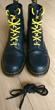 Dr Martens navy blue boots size 9.5 hardly used