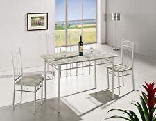 Tisch- & Stuhl-Sets aus Aluminium mit bis 4 Sitzplätzen