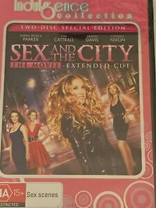 Sex and the City: The Movie  Extended Cut (2 Disc Special Edition) DVD Brand New