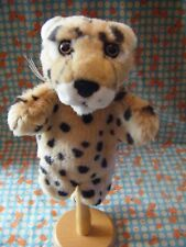 """Dowman Soft Touch Tiger Cub Hand Puppet.14"""" including tail approx VGC"""