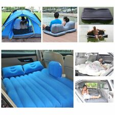 HAITRAL Portable Travel Camping Inflatable Air Mattress with Pillow for Travel