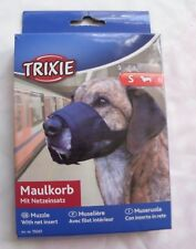 Trixie Small Fabric & Net Adjustable Dog Muzzle New Jack Russell Dachshund