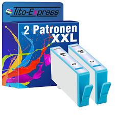 2er-Pack Cyan mit Chip ProSerie für HP 920 XL Officejet 6000 Special Edition
