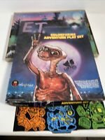 Vintage 1982 E.T. Colorforms Adventure Play Set Playboard Toys Movie Collectible