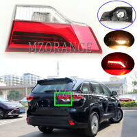 Right Driver Side Rear Inner Tail Light Lamp For Toyota Highlander Kluger 15-19