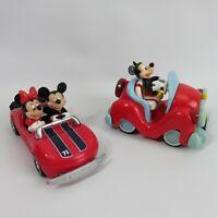 Disney Park Walt Disney Mini Vehicle Toy Car Mikey and Minnie
