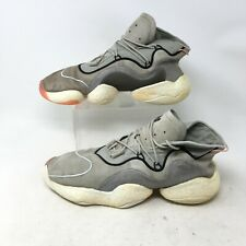 Adidas Crazy Boost BYW Sesame Basketball Shoes Sneakers Lace Up Gray Mens 11