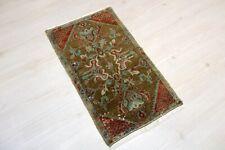 """Sivas Carpet Doormat, 19.7""""x32.7"""", Turkish Doormat, Handmade Vintage Doormat"""