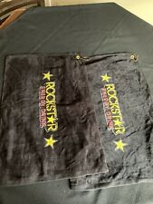 2 Rockstar Energy Drink Golf Towels