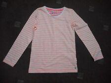Next Niñas Mangas Largas Franjas edad 12 años Camiseta BNWOT