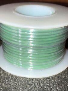 "NTE WT18-05-25  18 awg 19 Strand Type ""E"" Teflon Green 200°C@600V 25 ft. spool"