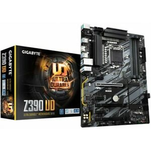 SCHEDA MADRE GIGABYTE GA-Z390-UD LGA 1151 OTTIMA PER MINING ETHEREUM 6 GPU