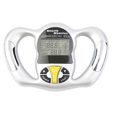 Digital LCD Body Fat Analyzer Weight Health Monitor Meter Handheld Tester Wd