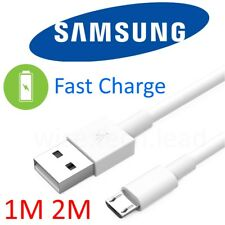 Fast Charger Cable Lead Charge Cord for Samsung Galaxy S5 S6 S7 S8 Edge Note 4 5