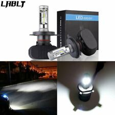 9003 H4 8000LM 6500K White 50W CSP LED Headlight Bulb Conversion Kit High Low