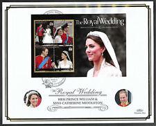 Guyana 2011 Large FDC Wedding of William & Catherine Ltd Ed 8/250