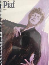 for Edith Piaf - Little Sparrow / La Vie En Rose fan  vinyl Album Cover Notebook