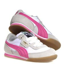 PUMA LAB II RIPSTOP JR GRAY AND PINK Size 4.5 US  NWT