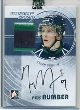 Tyler Seguin 2009 ITG Superlative RC Auto/3-COLOR Patch #/9 Bruins FREE S