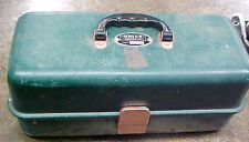 "BS1 Vintage RARE UMCO 803 R fishing tackle box tacklebox  15"" L x 7"" W x 6"" H"