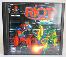 RIOT PLAYSTATION 1 ONE PS1 PSONE PAL 1996 NEW MIB NOS !