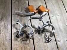 SHIMANO DURA ACE PRO BRAKESET (FIRST GENERATION) VINTAGE BICYCLE EROICA NOS NIB