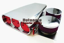 Aluminum Street Rod Air Hood Scoop Bug Catcher Blower Washable HotRod Chevy Ford