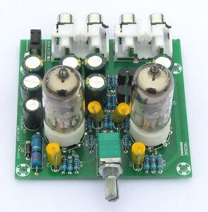 6J1 Tube Preamp Amplifier Board Pre-amp Headphone Buffer Kits DIY Assortment