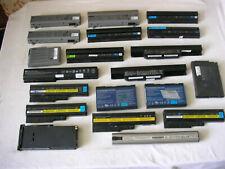 Lotto stock 20 batterie per portatili Acer Dell Hp Lenovo Compaq Asus