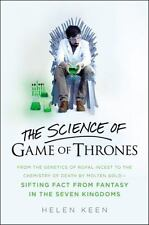 THE SCIENCE OF GAME OF THRONES - KEEN, HELEN - NEW HARDCOVER BOOK