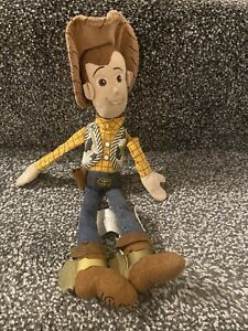 """Disney Store Toy Story Soft Toy Plush Toy Sheriff Woody Approx 12"""""""