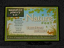 NEW NATURE POET Magnetic Poetry Kit