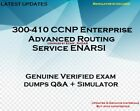 300-410 CCNP Enterprise Advanced Routing Service ENARSI practice QA + simulator