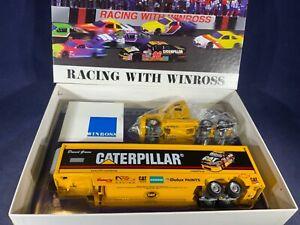 D5-68 DAVID GREEN #96 CATERPILLAR RACING TEAM HAULER / TRANSPORTER - WINROSS