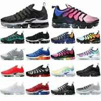 Athletic Mens Running Shoes TN Plus VM In Metallic Black Trainer Vapor Sneakers