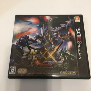 Nintendo 3DS Monster Hunter XX Double Cross japan Import
