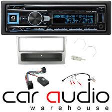 Alpine Vauxhall Meriva 2003-07 Bluetooth DAB+ CD AUX Car Stereo Player Silver