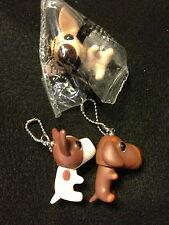 3 of THE DOG UNUSUAL key chains from Japan-ship free