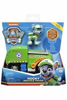Paw Patrol Rocky Recycle Truck Nickelodeon Forklift Kid's Toy Vehicle Car 3+ NEW