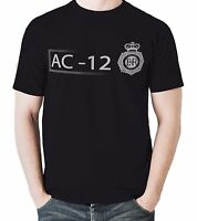 AC-12 Mens Printed BBC TV T-Shirt Inspired By Line Of Duty FIVE COLOURS