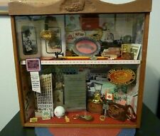 Rare State Farm Insurance Agency Collectible Shadow Box In Excellent Condition
